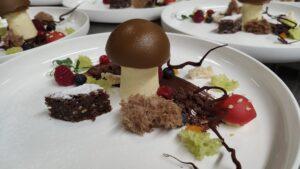 Steinpilz Dessert